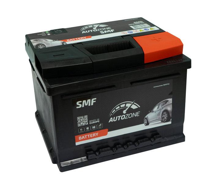 Autobatteri 12 V 60Ah (+h)