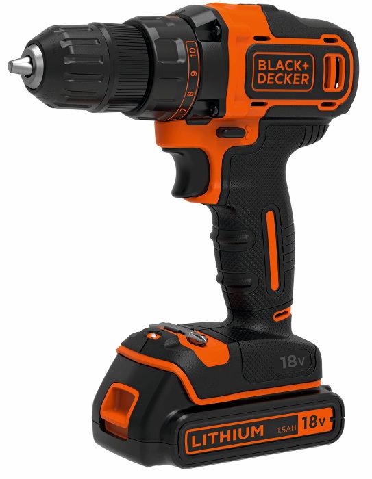 Skruvdragare / Borrmaskin 18V Black & Decker