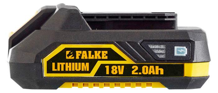 Falke 18V Li-ion batteri 2,0 Ah