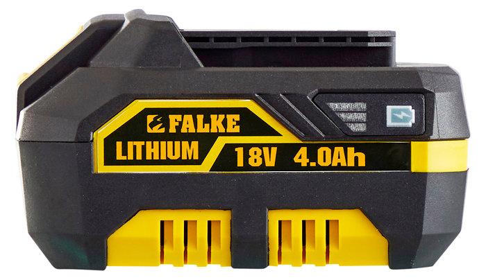 Falke 18V Li-ion batteri 4,0 Ah