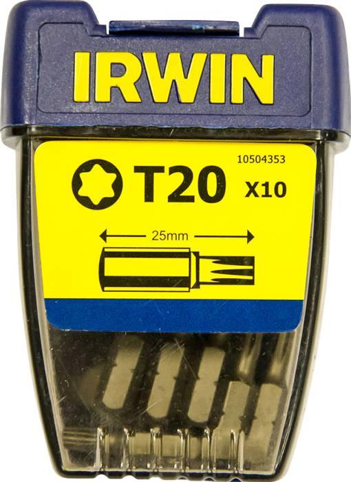 Irwin bits torx T20. 10-pk.