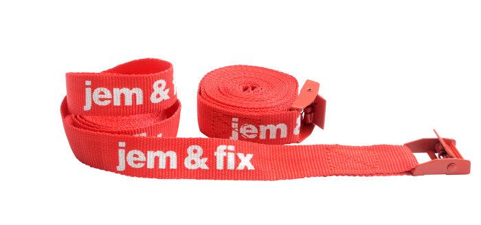 Spännband 3 m 2-pack jem & fix