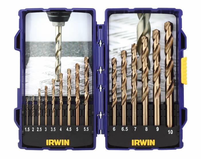 Irwin HSS Cobalt borsæt 15 stk.