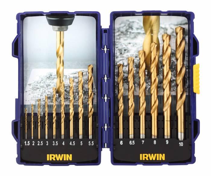 Irwin HSS Pro Titan borsæt 15 stk.