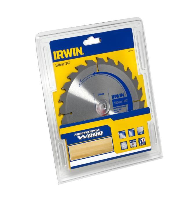 Irwin rundsavsklinge Ø180 x 30 mm - 24T