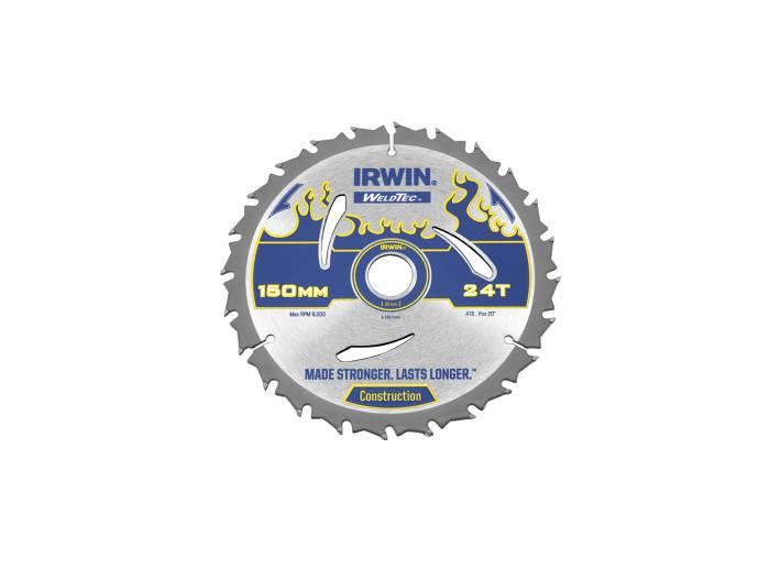 Irwin Weldtec rundsavsklinge Ø150 x 20 mm - 24T