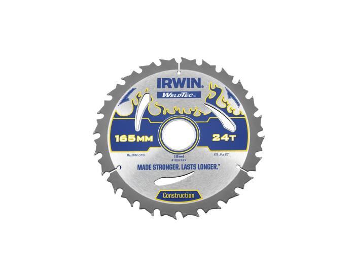 Irwin Weldtec Rundsavsklinge Ø: 165 mm - 24 tands