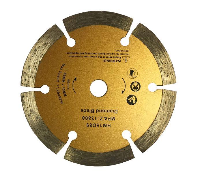 Diamant skæreskive - 89 x 10 mm