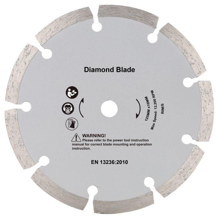 Diamant skæreskive 125 x 10 mm