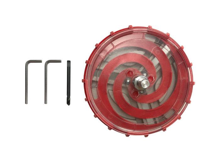 Justerbar hulsav 45-130 mm