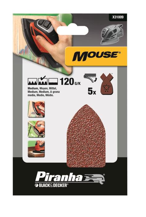 Slippapper mouse Korn 120