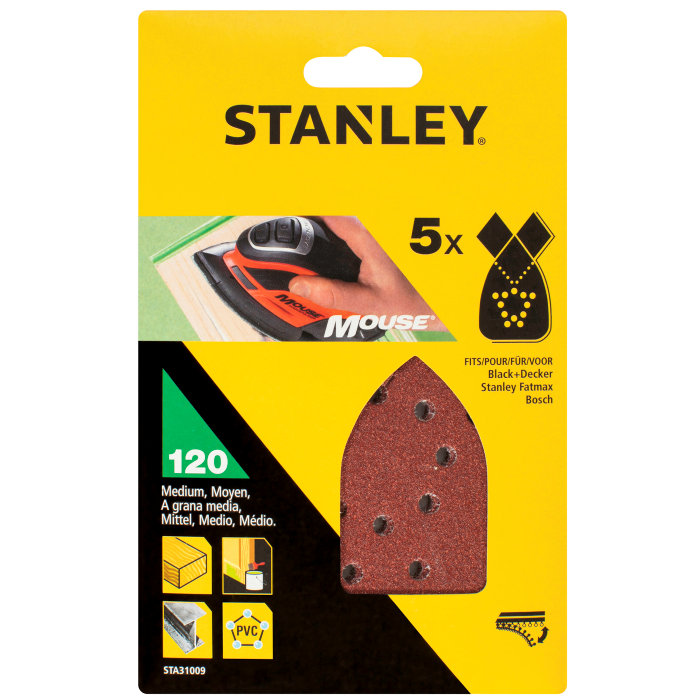 Slippapper Mouse K120, Stanley