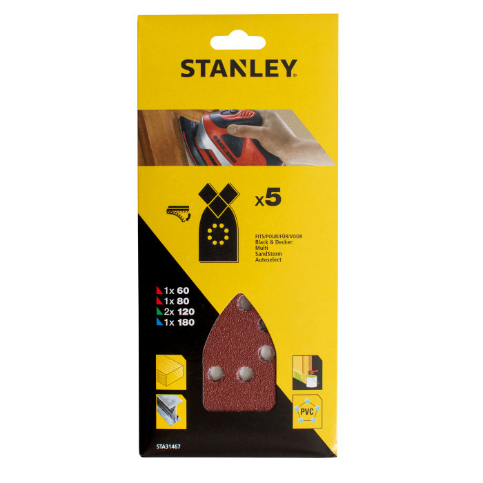 Slippapper Multi K60-180 Stanley