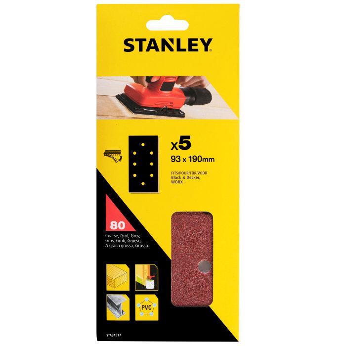 Slippapper med hål K80, Stanley
