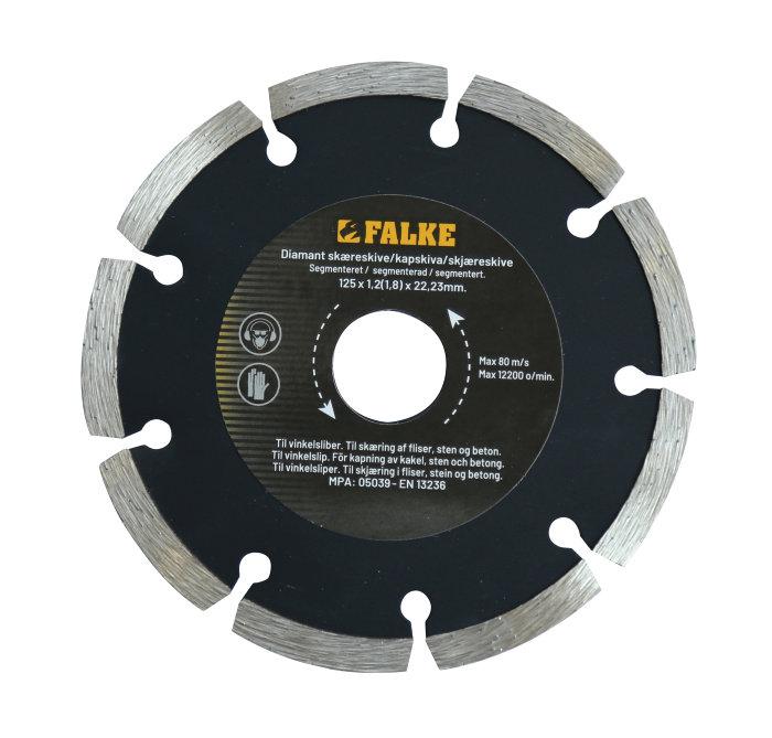 Falke diamantblad Ø125mm