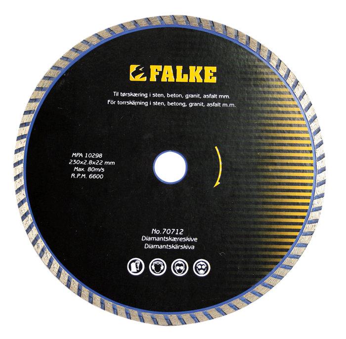 Diamantklinga 125 mm Falke