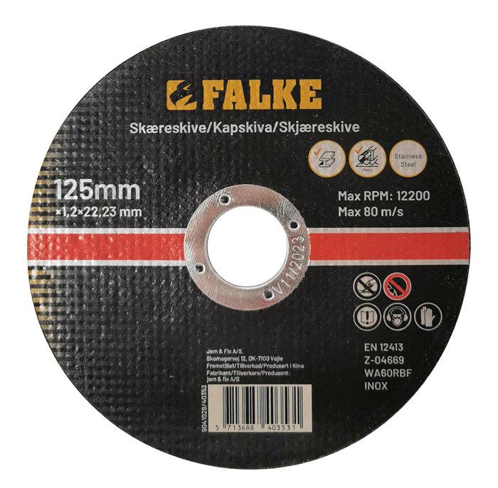 Falke skæreskive Ø125 mm til metal