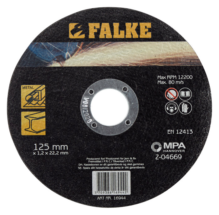 Falke Skæreskive Ø: 125 mm