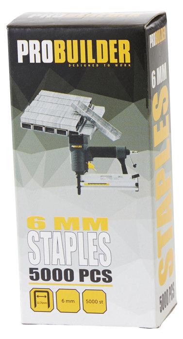 Hæfteklammer til hæftepistol 6 mm
