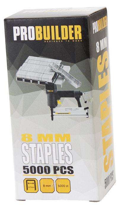 Hæfteklammer til hæftepistol 8 mm