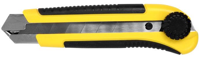 Hobbykniv m. låseskrue 25 mm.