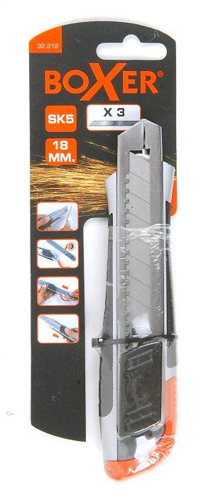 Brytbladskniv 18 mm Boxer
