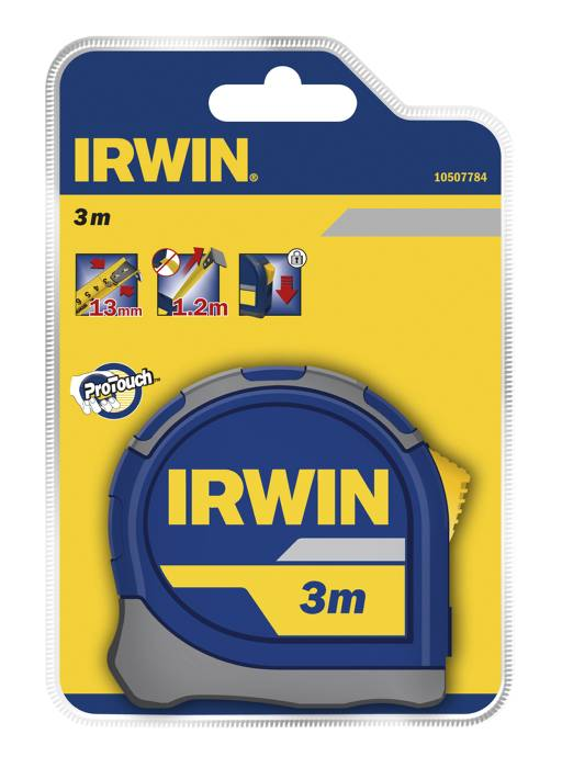 Irwin målebånd 3 m.
