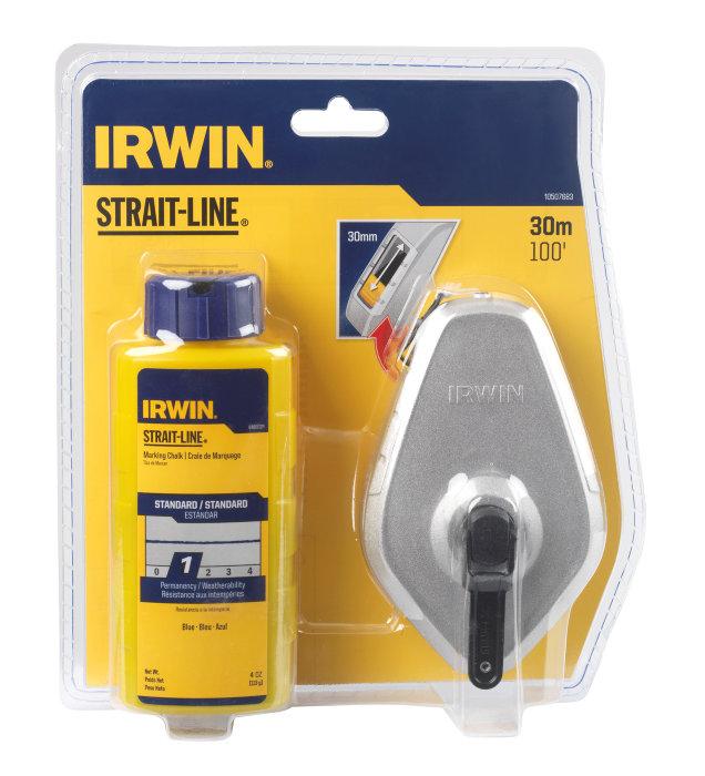 Irwin Strait-Line kridtsnor-opmærkning 30 m