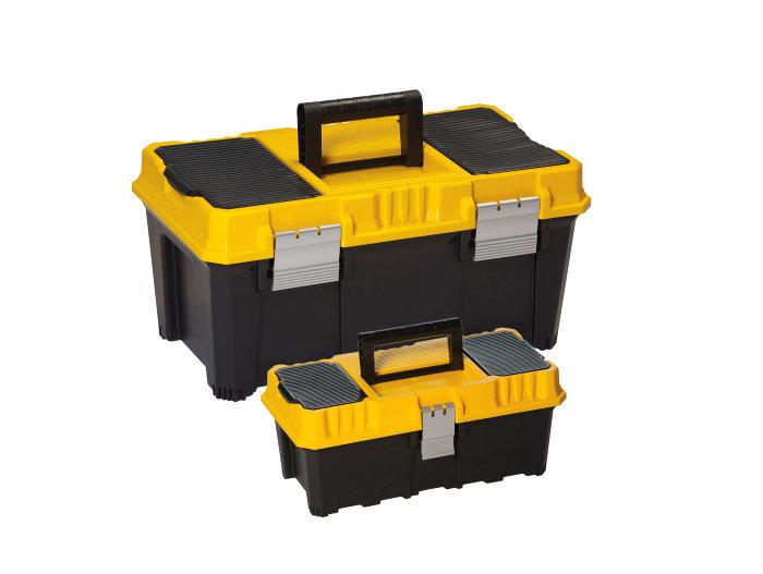Værktøjskassesæt med 2 stk.