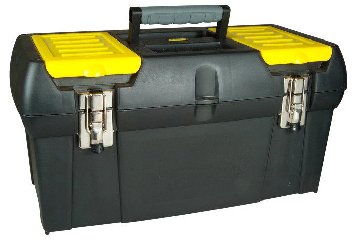 Værktøjskasse 48 cm m/metalhængsel - Stanley