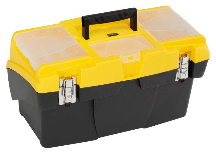 Værktøjskasse Jumbo flerdelt - Stanley