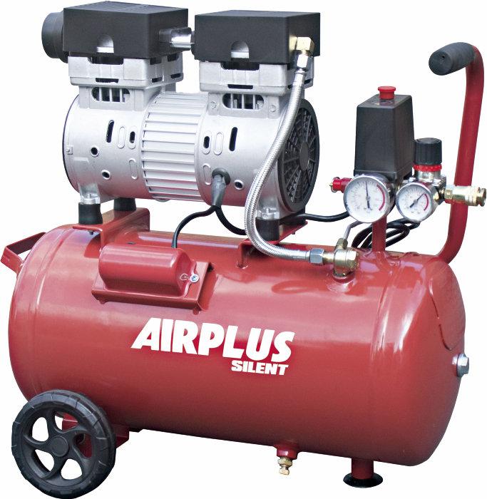 Kompressor støysvak 1,0 hk og 24 liters tank