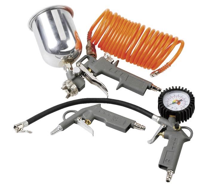 Kompressor-kit m. 4 dele