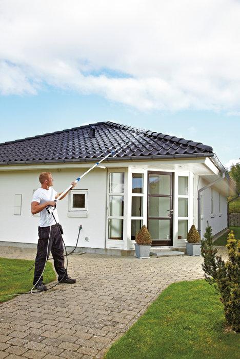 Nilfisk Roof Cleaner takrenser for høytrykksspyler