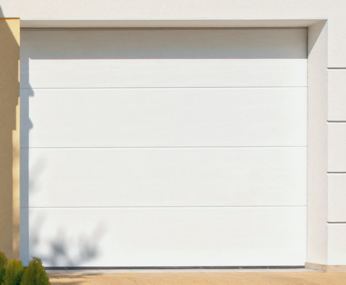 Garageport 240 x 212,5 cm med portautomatik No Rip G