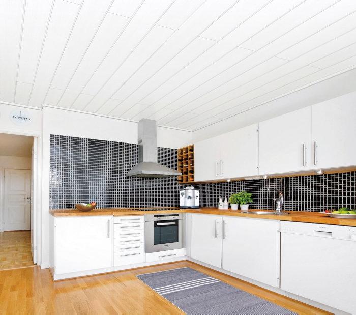 Væg- og loftpanel - hvid struktur
