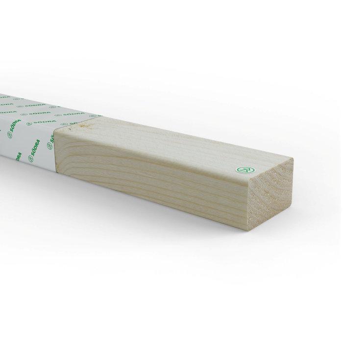 Kortregel 45 x 70 mm - 2,5 m