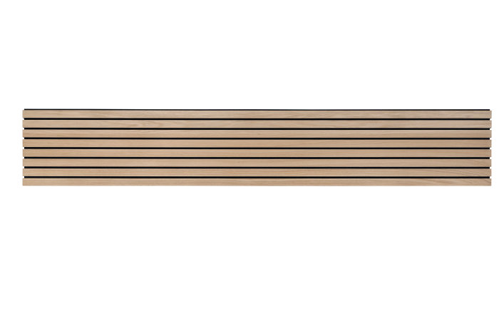 Design- og akustikpanel 2400 x 396 x 9,6 mm - 2 stk.