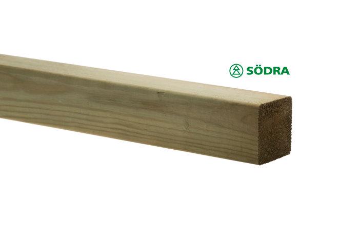 Regel 45 x 45 mm - 3 m