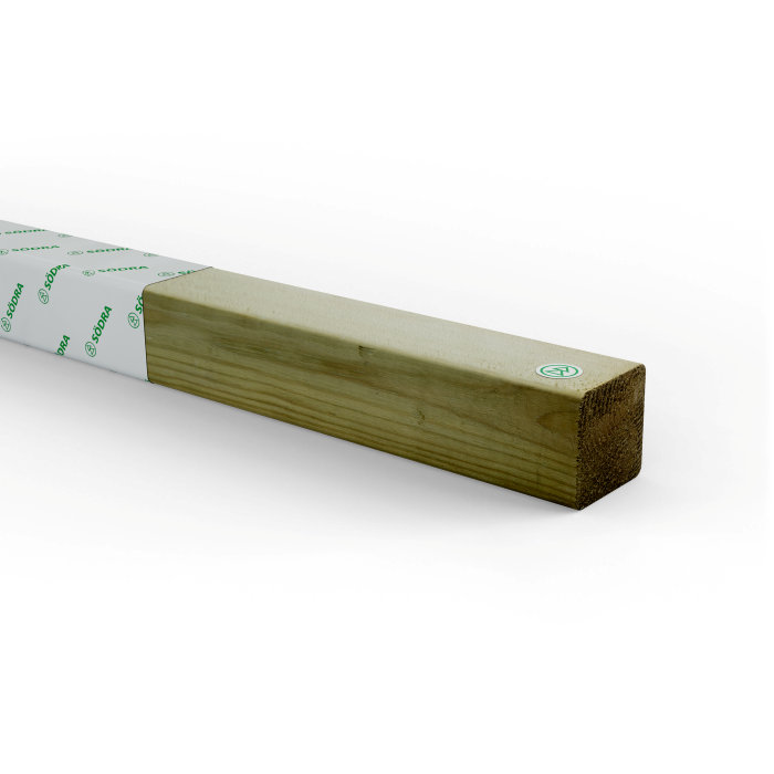 Regel Impregnerad 45 x 45 mm - 4,8 m