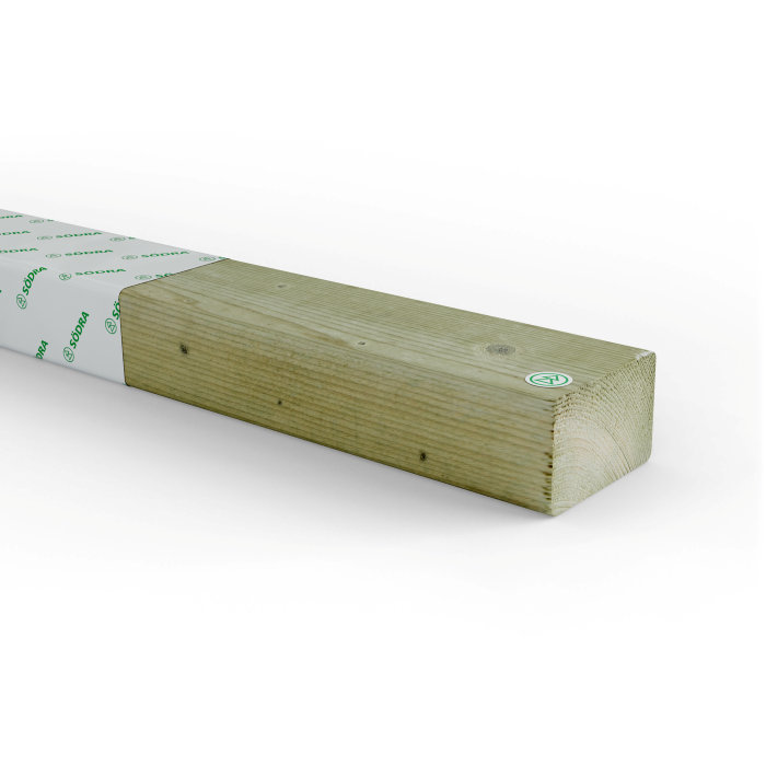 Regel Impregnerad 45 x 70 mm - 4,2 m
