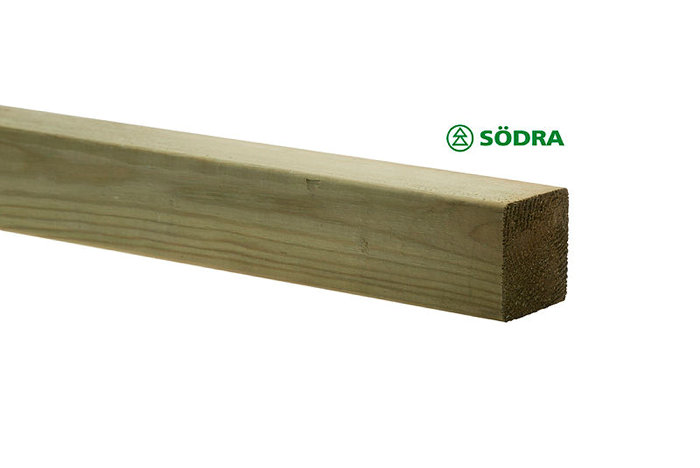 Stolpe 70 x 70 mm - 3 m