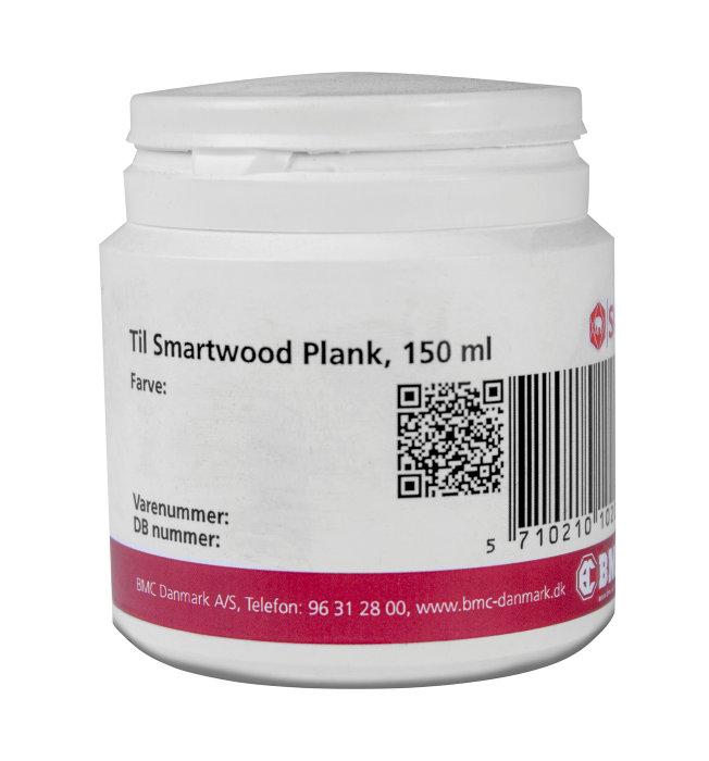 Reparationsmaling til sort SCG Smartwood Plank