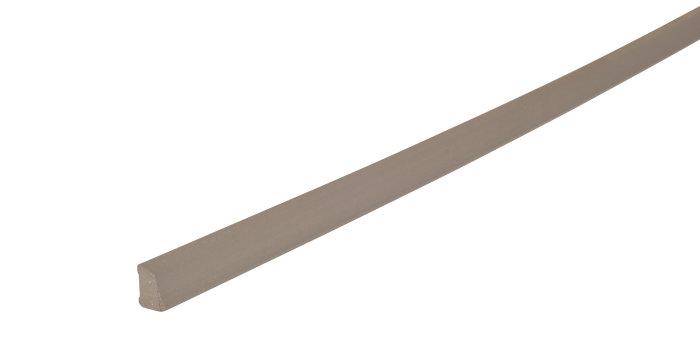 Sandliste plast koksgrå - 10 x 16 mm x 3 meter