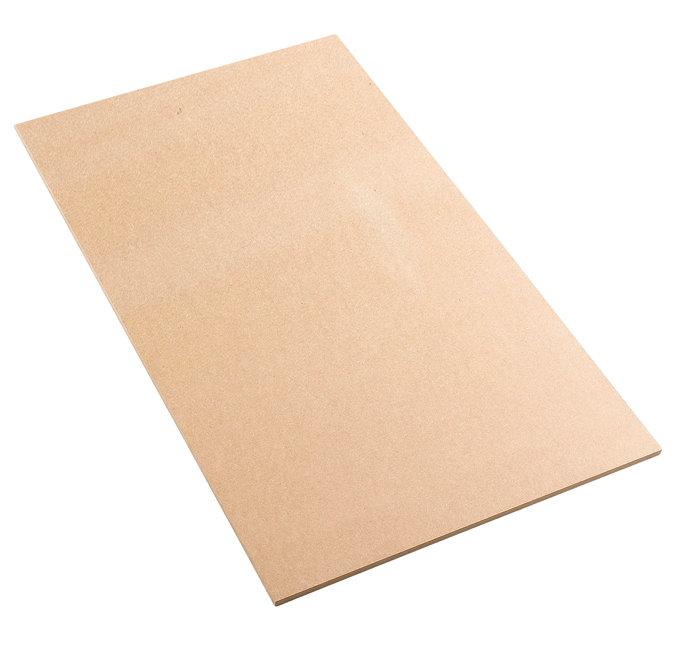 Blød træfiberplade 12,5 mm - 80 x 120 cm