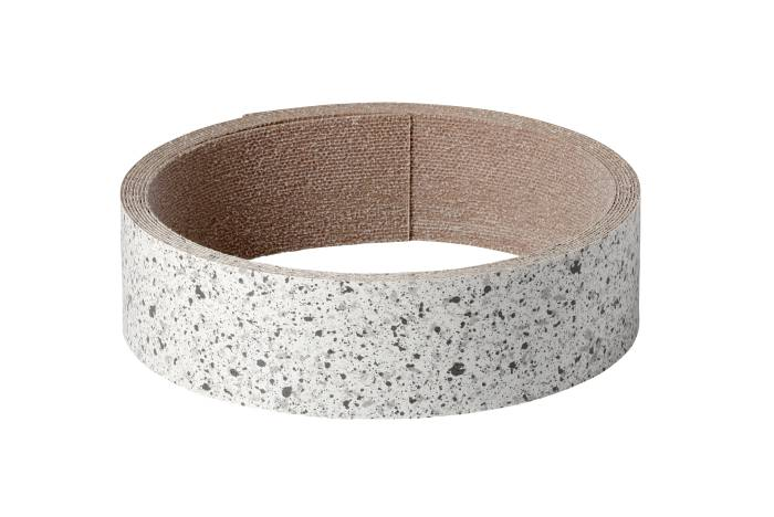 Kantbånd i lys granit - 300 cm