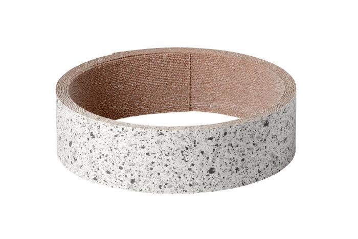 Kantband ljus granit