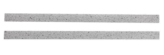 Kantbånd til laminatbordplade i lys granit