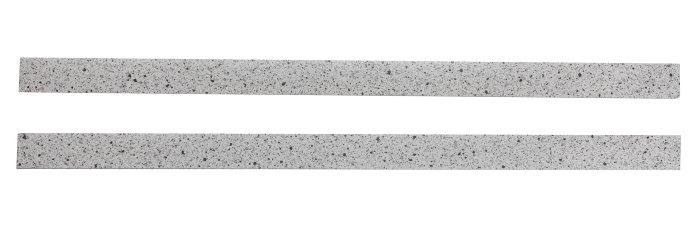 Kantbånd lys granitt 2x65 cm