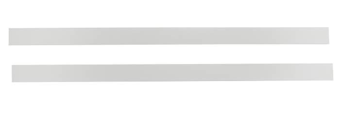 Kantbånd i hvid - 2 x 65 cm